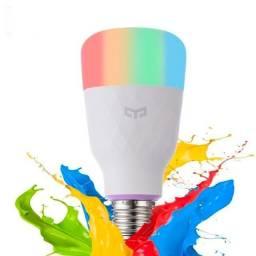 Lâmpada Inteligente Xiaomi Colorida Smart Yeelight Wifi Bivolt