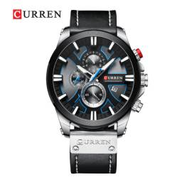 Relógio Original De Luxo Curren Cronógrafo Quartzo Militar ( entrega gratuita)