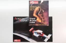 Rev. 4 Rodas + Pôster Ayrton Senna: O Herói De Corpo E Alma