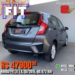 Smart Veículos - Honda Fit LX 1.4, 15/2015, 40.473 Km. R$ 47.900,00