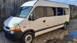 Renault master 2.5 16 lugares ano 2010 completa