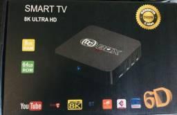 TV box 8K de alta qualidade, transforme sua TV em smart...