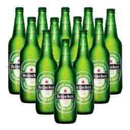 Garrafa De Cerveja Vidro 600ml - 24 Unid. Vazia