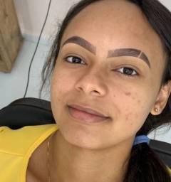 Design de sobrancelhas e henna