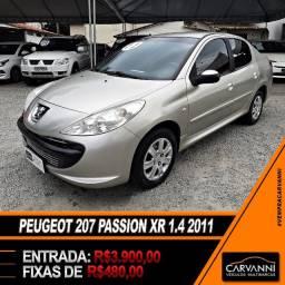 Peugeot 207 Passion XR 1.4 Sedan 2011 Completo