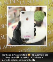 iPhone 8 Plus / Grátis Capinha e película
