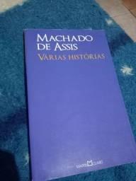 Título do anúncio: Livro Várias histórias - Machado de Assis