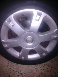 Troco rodas 16 originais do Vectra elegance