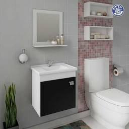 Título do anúncio: Gabinete pra banheiro com espelheira.