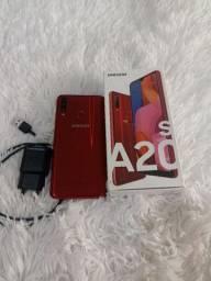 Título do anúncio: Celular Samsung Galaxy A20s 32g