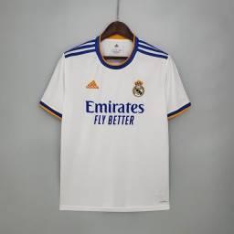 Título do anúncio: Camisa Real Madrid 2021 - Tamanho P