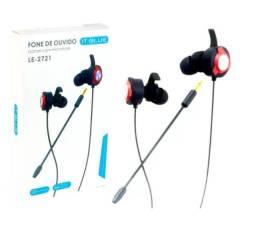 Fone De Ouvido Gamer Com Microfone P/ps4 Celular