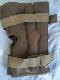 Órtese/joelheira/suporte para joelho com dobradiça na lateral