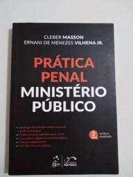 Livro Prática Penal Ministério Público / Cleber Masson e Ernani de Menezes Vilhena Jr.