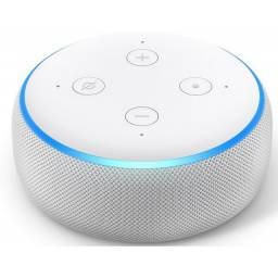 Caixa De Som Speaker Amazon Echo Dot Sandstone (3ª Geração)<br><br>