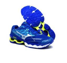 Tenis Masculino Mizuno Wave Creation - Azul Royal!