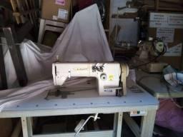 Máquina industrial suador duas agulha completa marca Fujita