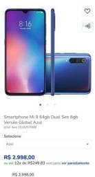 Título do anúncio: Xiaomi MI 9 SE 64 Gb