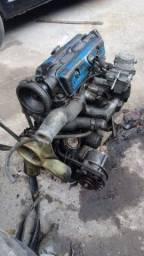 Motor de chevette  a gasolina completo