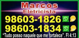 Eletricista e manutenções elétricas  ( aceitamos pix)