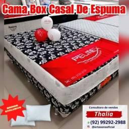 Título do anúncio: Cama casal de espuma D28. entregamos em toda Manaus