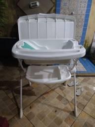 Banheira infantil com trocador da borigoto