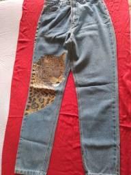 Título do anúncio: Calça jeans farm cintura alta (40) oportunidade