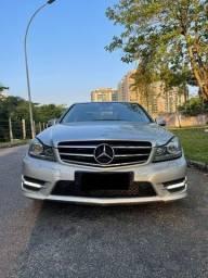 Título do anúncio: Mercedes Benz 2014 -C180 -carro com passagem em leilão .