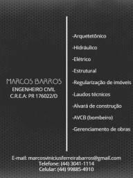 Título do anúncio: Engenheiro Civil
