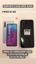Redmi Note 8 64gb space black