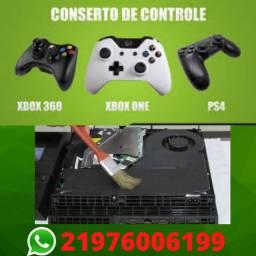 Conserto de Controles e Manutenção de Video Games