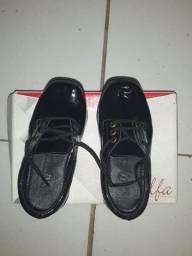 Sapato social número 22