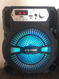 Título do anúncio: Vendo caixa de som e Karaoke