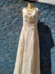 vestido bordado noiva