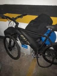 Título do anúncio: Bicicleta da caloi feio a disco