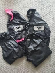 Título do anúncio: Roupa de chuva para motociclista