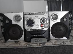Vendo Mini Hi-Fi System com mp3/wma fwm572/bk