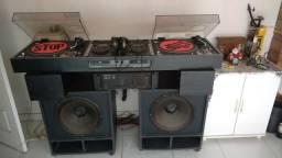 Som profissional para DJ