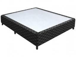 Cama Box para Colchão Casal 42cm de Altura - Nero