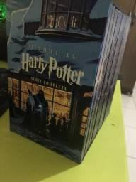Coleção de livros HP com todos os exemplares
