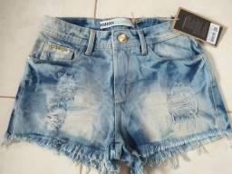 Short Jeans feminino Innocenti