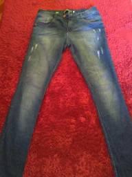 3 calças jeans masculina usadas tamanho 44
