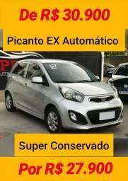 KIA PICANTO 2012/2012 1.0 EX 12V FLEX 4P AUTOMÁTICO - 2012
