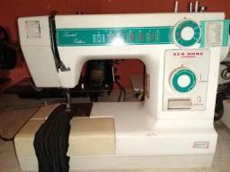 Máquina de costura Zig Zag New home portátil