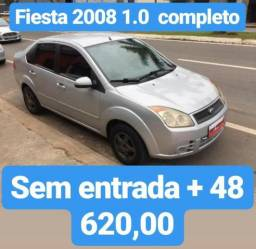 Fiesta 2008 1.0 Completo Sem Entrada Em 48 De 620,00 - 2008