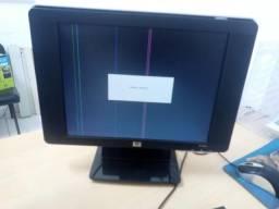 Monitor Hp15p com defeito