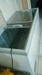 Freezer 2 porta de vidro