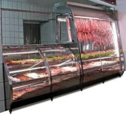 Balcão de açougue * balcão frigorífico * balcão refrigerado para carne