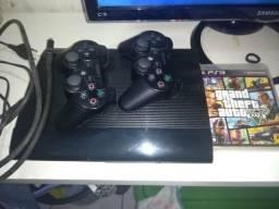 Vendo PS3 Completo + GTAV
