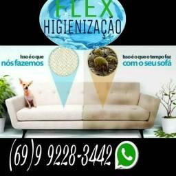 Lavagem a seco Domicílio FLEX